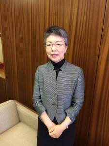 荒瀬泰子副市長 平成27年4月1日就任